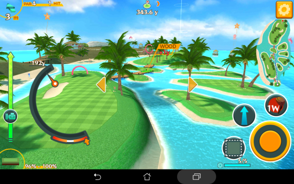 One of the places you'll be golfing at in this game.